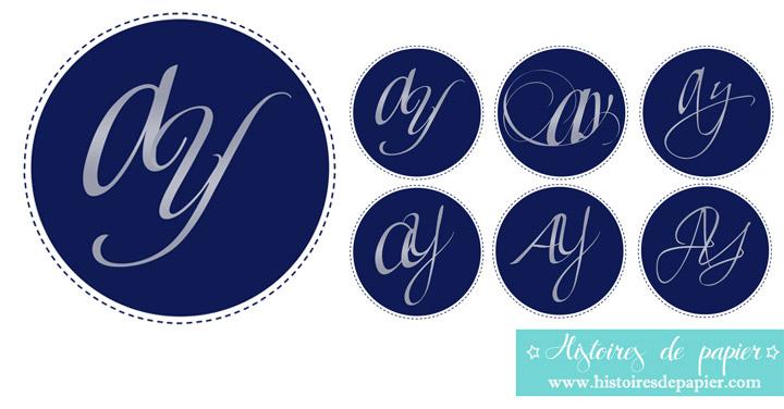 Monogramme AY