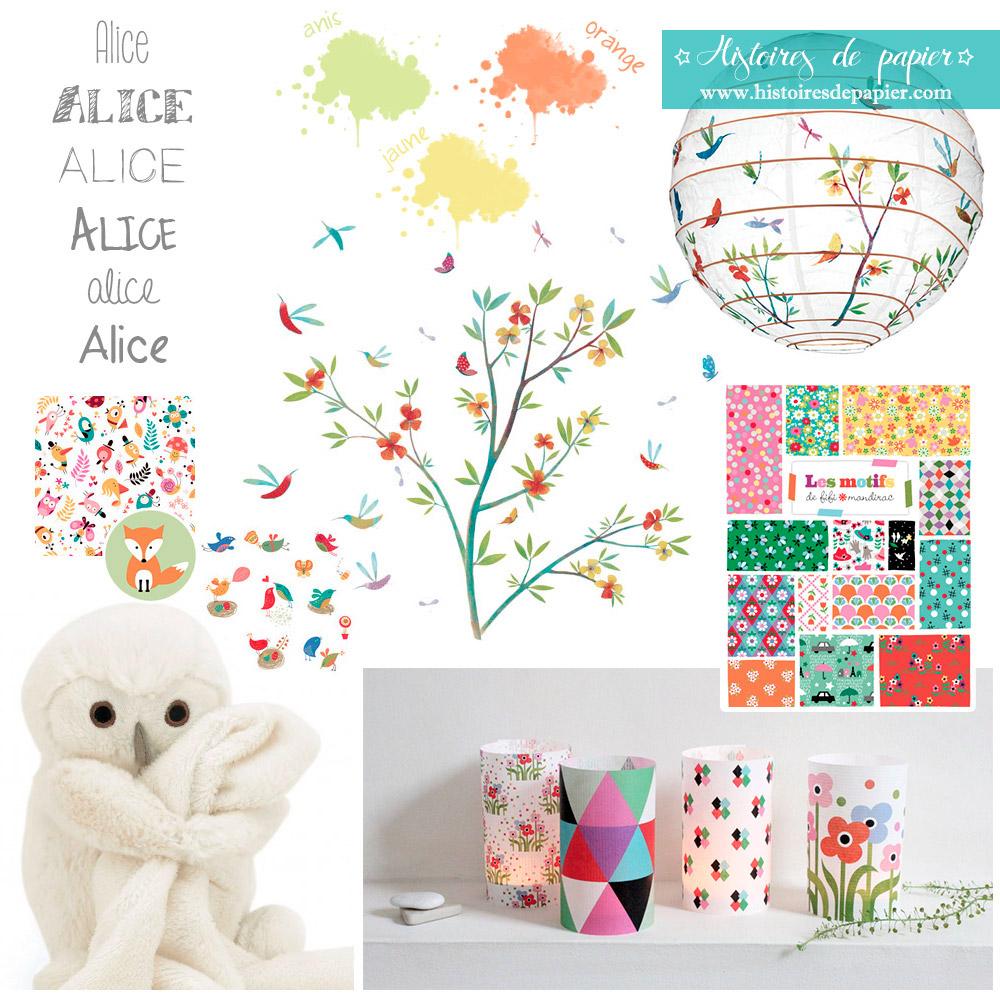 Faire-part Naissance Alice