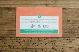 Invitation soirée caritative OPC