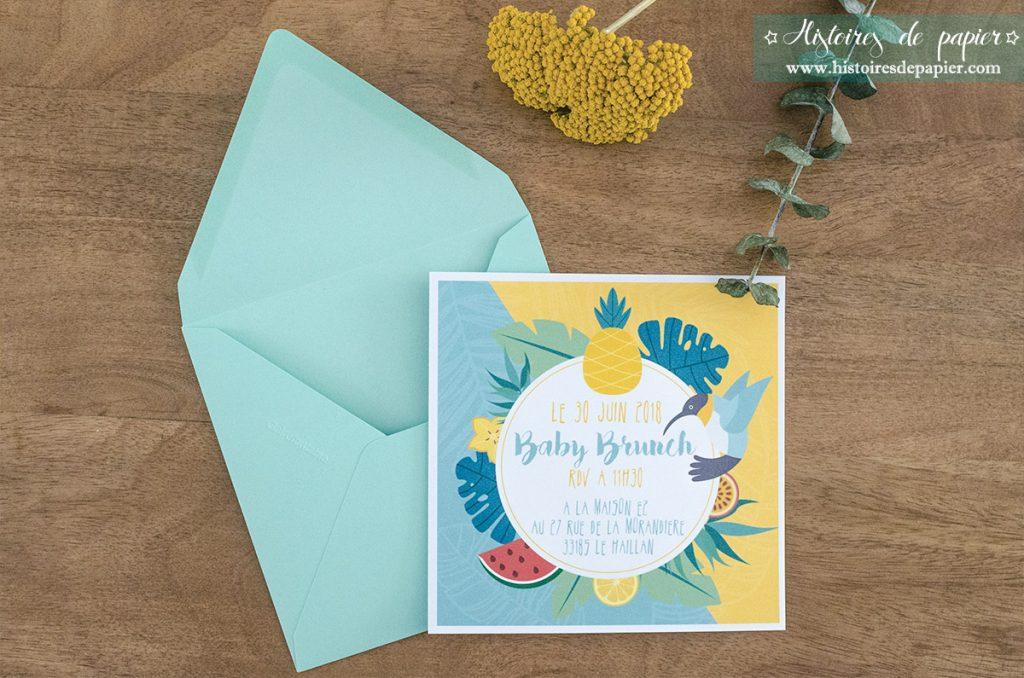 Invitation Baby brunch