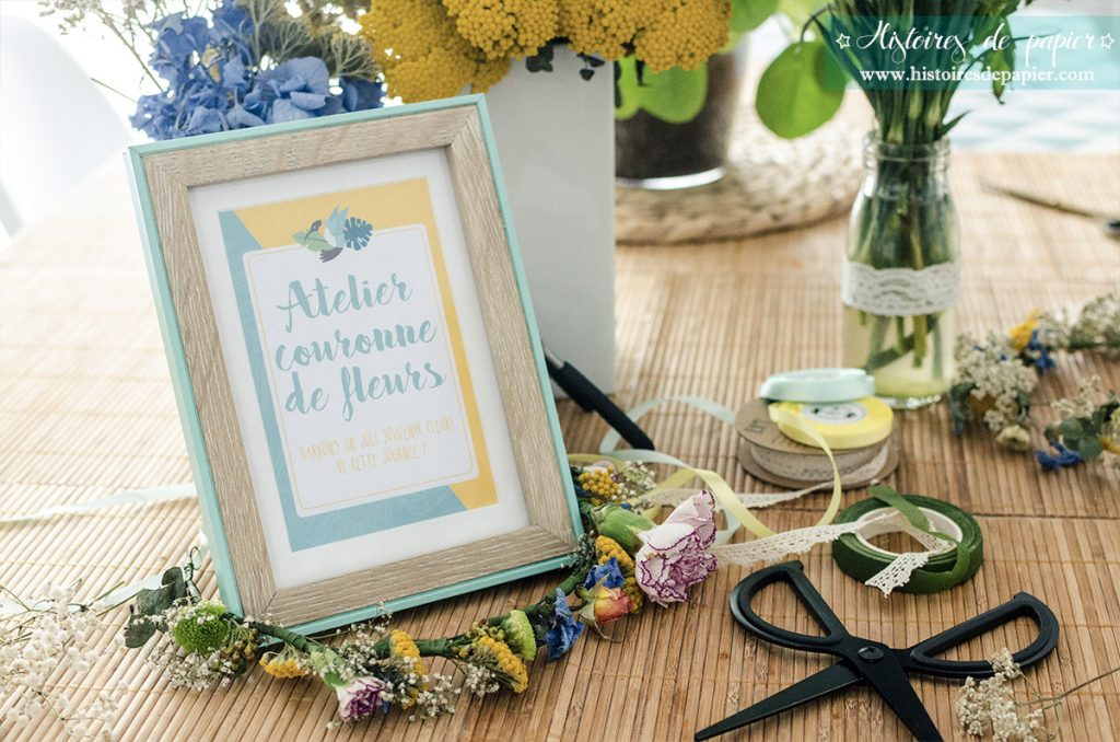 Baby Brunch Atelier couronnes de fleurs