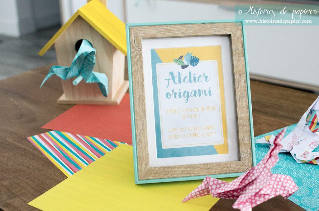 Baby Brunch Atelier Origami